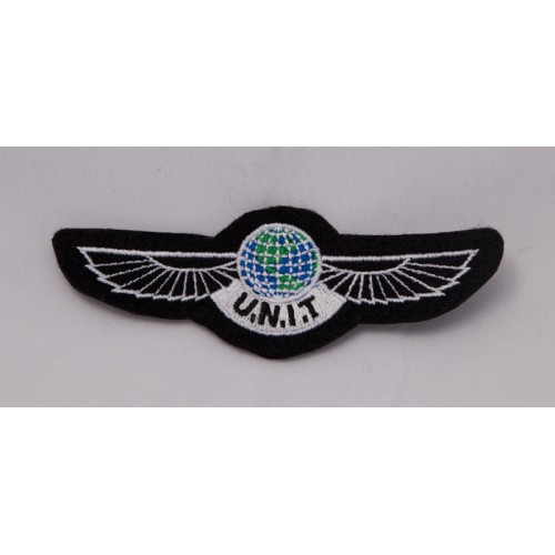 U.N.I.T wings patches set